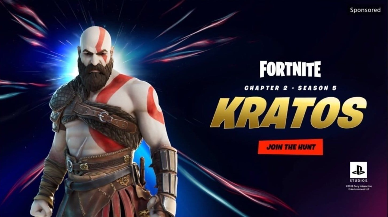 Утечка: Кратос из God of War появится в Fortnite