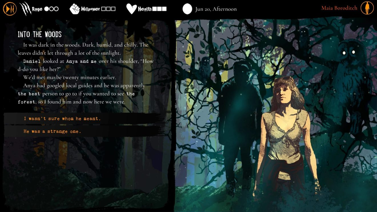 Werewolf: The Apocalypse - Heart of the Forest выходит на Nintendo Switch