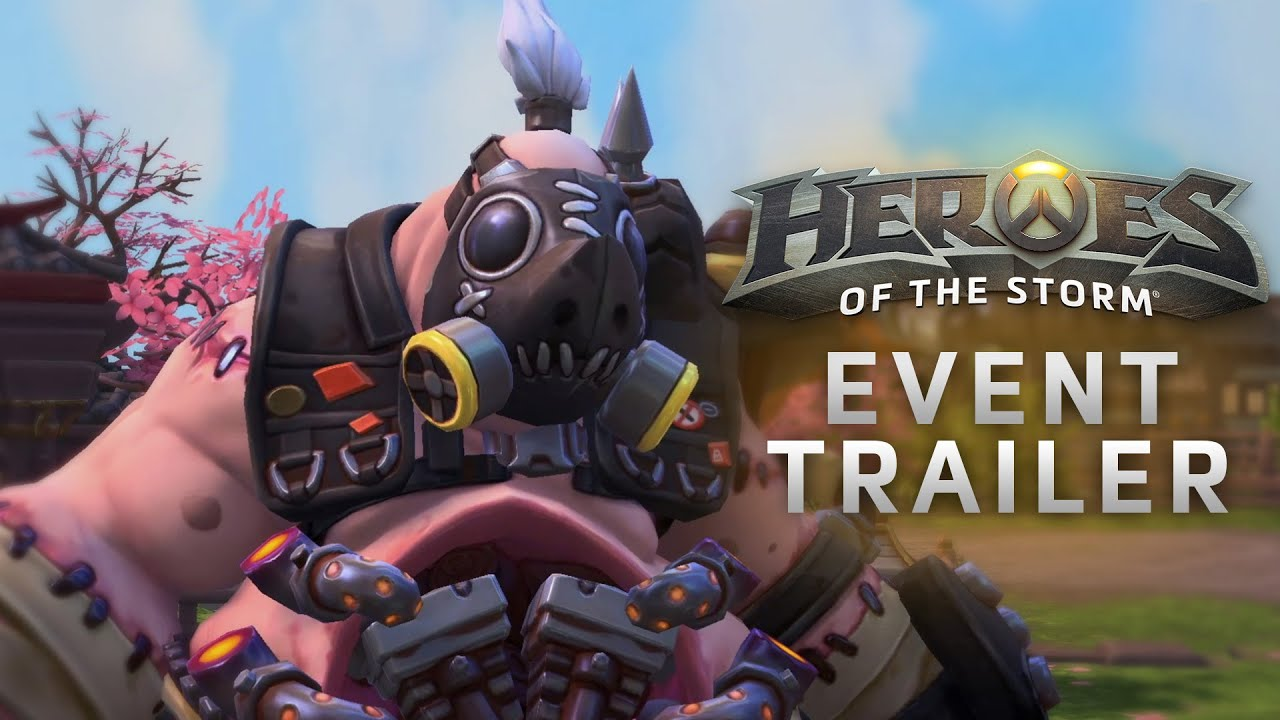 Heroes of the Storm: Трейлер события