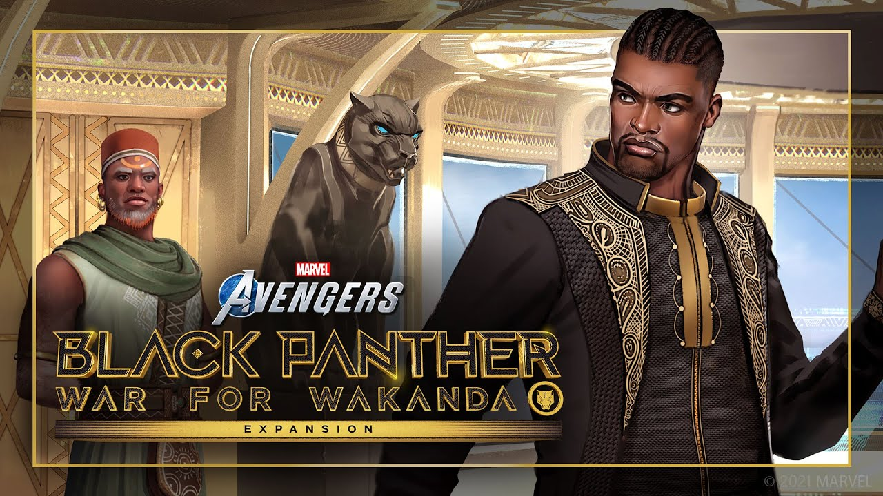 Вышел трейлер Marvel's Avengers - Road to Wakanda: Fathers and Sons